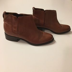 """Franco Sarto """"Caryn"""" Leather Boots Size 7.5"""